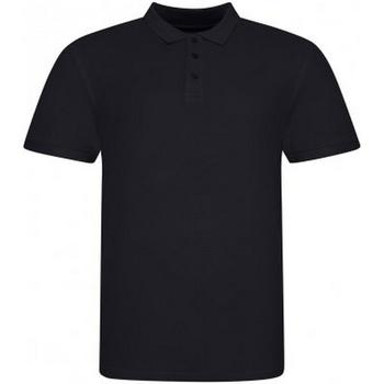 Vêtements Homme Polos manches courtes Awdis JP100 Noir