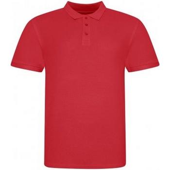 Vêtements Homme Polos manches courtes Awdis JP100 Rouge