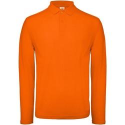 Vêtements Homme Polos manches longues B And C BA290 Orange
