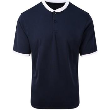 Vêtements Homme Polos manches courtes Awdis JC044 Bleu marine / blanc
