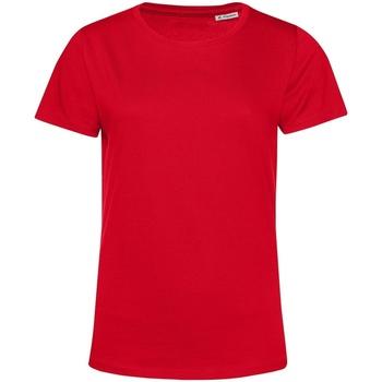 Vêtements Femme T-shirts manches courtes B&c TW02B Rouge