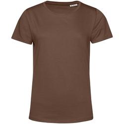 Vêtements Femme T-shirts manches courtes B&c TW02B Café