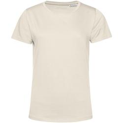 Vêtements Femme T-shirts manches courtes B&c TW02B Blanc cassé