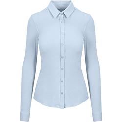 Vêtements Femme Chemises / Chemisiers Awdis SD047 Bleu