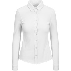Vêtements Femme Chemises / Chemisiers Awdis SD047 Blanc