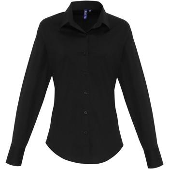 Vêtements Femme Chemises / Chemisiers Premier PR344 Noir
