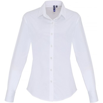 Vêtements Femme Chemises / Chemisiers Premier PR344 Blanc