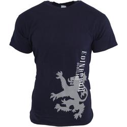 Vêtements Homme T-shirts manches courtes Universal Textiles  Bleu marine