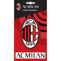 Maison & Déco Stickers Ac Milan TA4043 Rouge