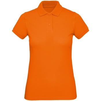 Vêtements Homme Polos manches courtes B And C PM430 Orange
