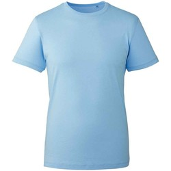 Vêtements T-shirts manches courtes Anthem AM10 Bleu clair