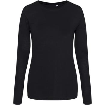 Vêtements Femme T-shirts manches courtes Awdis JT02F Noir