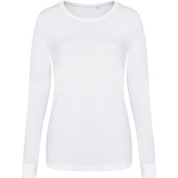 Vêtements Femme T-shirts manches courtes Awdis JT02F Blanc