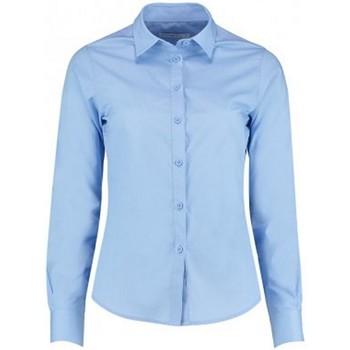 Vêtements Femme Chemises / Chemisiers Kustom Kit K242 Bleu clair