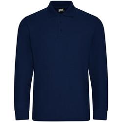 Vêtements Homme Polos manches longues Pro Rtx  Bleu marine