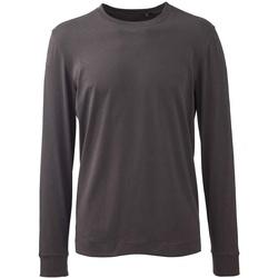 Vêtements Homme T-shirts manches longues Anthem AM11 Gris foncé