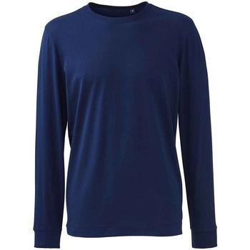 Vêtements Homme T-shirts manches longues Anthem AM11 Bleu marine