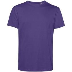 Vêtements Homme T-shirts manches courtes B&c BA212 Violet