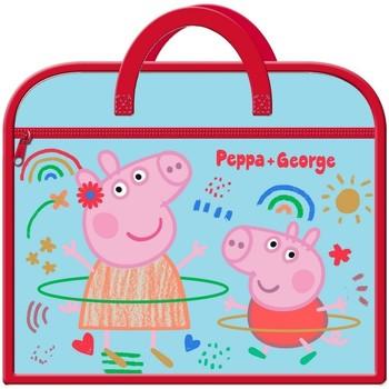 Sacs Enfant Cartables Peppa Pig  Bleu / rouge