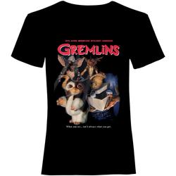 Vêtements T-shirts manches courtes Gremlins  Noir