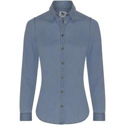 Vêtements Femme Chemises / Chemisiers Awdis SD045 Bleu clair