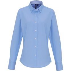 Vêtements Femme Chemises / Chemisiers Premier PR338 Bleu clair