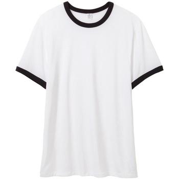 Vêtements Homme T-shirts manches courtes Alternative Apparel AT013 Blanc / noir