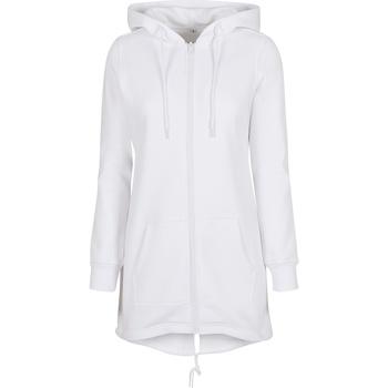 Vêtements Femme Sweats Build Your Brand BY148 Blanc