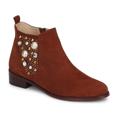 Chaussures Femme Boots MySuelly ARTHUR Rouille
