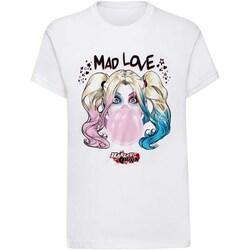 Vêtements T-shirts manches courtes Dessins Animés  Blanc