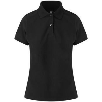 Vêtements Femme Polos manches courtes Awdis JP02F Noir