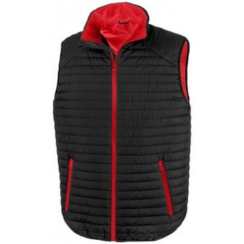 Vêtements Vestes Result R239X Noir / rouge