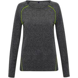 Vêtements Femme T-shirts manches longues Tridri TR040 Noir