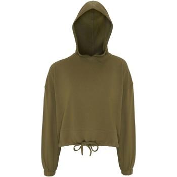 Vêtements Femme Sweats Tridri TR085 Vert olive