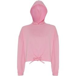 Vêtements Femme Sweats Tridri TR085 Rose clair
