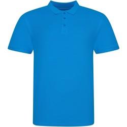 Vêtements Polos manches courtes Awdis JP100 Azur
