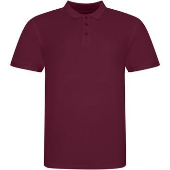 Vêtements Polos manches courtes Awdis JP100 Bordeaux