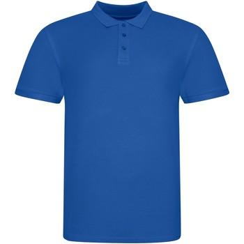 Vêtements Polos manches courtes Awdis JP100 Bleu roi