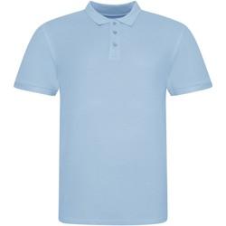 Vêtements Polos manches courtes Awdis JP100 Bleu ciel