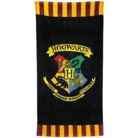 Maison & Déco Serviettes de plage Harry Potter Taille unique Noir