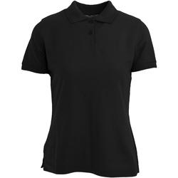 Vêtements Femme Polos manches courtes Absolute Apparel  Noir
