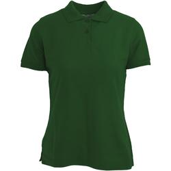 Vêtements Femme Polos manches courtes Absolute Apparel  Vert bouteille