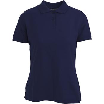 Vêtements Femme Polos manches courtes Absolute Apparel  Bleu marine