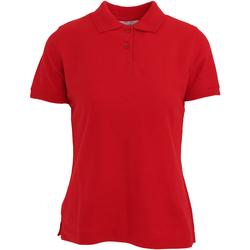 Vêtements Femme Polos manches courtes Absolute Apparel  Rouge