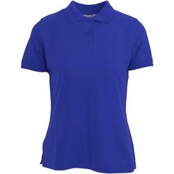 Vêtements Femme Polos manches courtes Absolute Apparel  Bleu roi