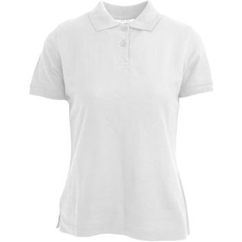 Vêtements Femme Polos manches courtes Absolute Apparel  Blanc