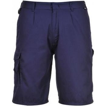 Vêtements Homme Shorts / Bermudas Portwest PW128 Bleu marine