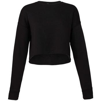 Vêtements Femme Sweats Bella + Canvas BL7503 Noir