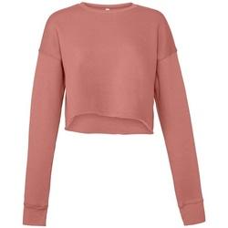 Vêtements Femme Sweats Bella + Canvas BL7503 Mauve