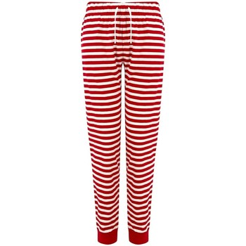 Vêtements Femme Pyjamas / Chemises de nuit Sf SK85 Rouge / blanc
